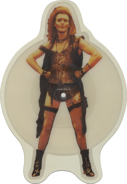 "Anthony Head ""Sweet Transvestite"" Shaped Picture Disc (Side One)"