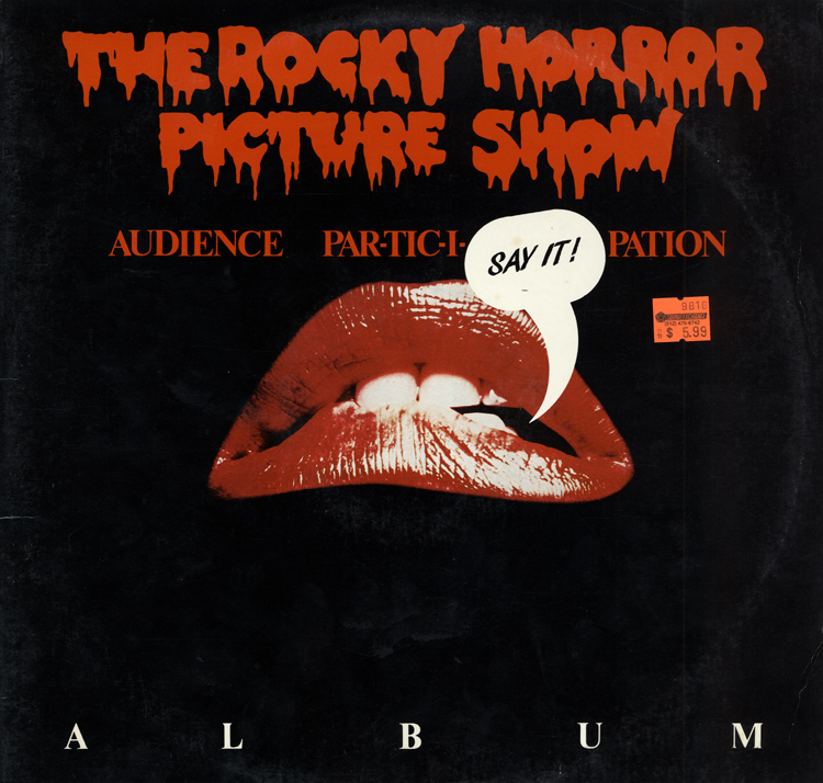 Rocky Horror Picture Show Audience Par-tic-i-pation Album LP (Front Cover)