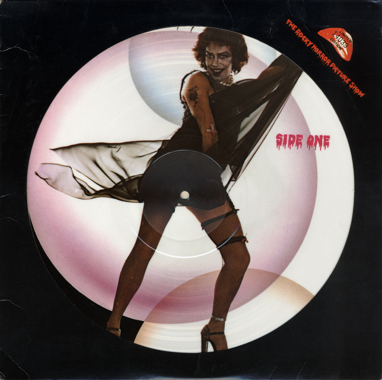 Rocky Horror Picture Show Soundtrack Picture Disc LP (Front Cover)