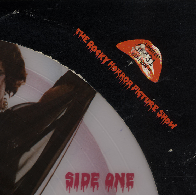 Rocky Horror Picture Show Soundtrack Picture Disc LP (Front Cover Piece)