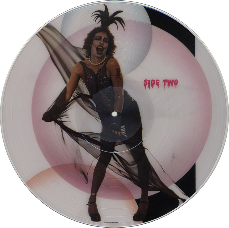Rocky Horror Picture Show Soundtrack Picture Disc LP (Side Two)