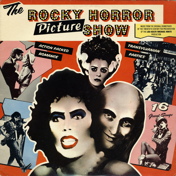 Rocky Horror Picture Show Soundtrack LP (Front Cover)