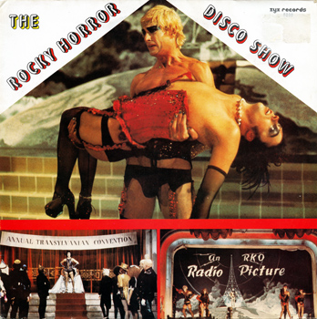 "The Rocky Horror Disco Show 12"" Single (Front Cover)"