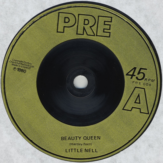 "Little Nell ""Beauty Queen"" 7"" Single (Disc Label)"