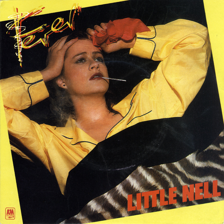 "Little Nell ""Fever"" 7"" Single (Front Cover)"