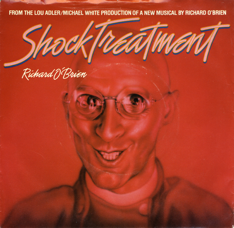"Shock Treatment Soundtrack 7"" Single (Front Cover)"