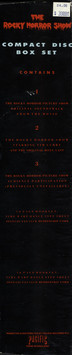 Rocky Horror Show Compact Disc Box Set (Back Cover)