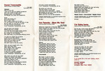 "Pocket Songs You Sing The Hits ""The Rocky Horror Picture Show"" Cassette (Booklet Part 2)"
