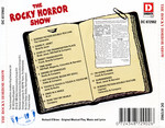Rocky Horror Show, 1973 London Cast CD, Disky Communications Europe (Back Cover)