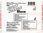 Rocky Horror Show, 1973 London Cast CD, Rhino Records (Back Cover)