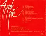 """Apple Pie """"Non sognarlo Puoi Esserlo (tratto dal Rocky Horror Picture Show)"""" CD (Back Cover)"""