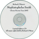 Mephistopheles Smith Cloven Hooves Tour 2007 CD-R Single (Compact Disc)