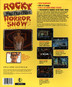 Rocky Interactive Horror Show CD-ROM (Back Cover)