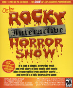 Rocky Interactive Horror Show CD-ROM (Front Cover)