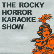 """""""The Rocky Horror Karaoke Show"""" CD Single (Front Cover)"""