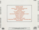 Rocky Horror Show, 1974 Australian Cast CD (Back Cover)