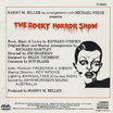 Rocky Horror Show, 1974 Australian Cast CD (Liner Notes Back)