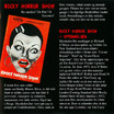 Rocky Horror Show, 1977 Norsk Versjon CD (Liner Notes Part 1)