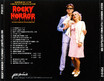 Rocky Horror Show, 1991 Icelandic Cast CD (Back Cover)