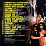 Rocky Horror Show, 1995 Finnish Cast CD (Liner Notes Back)