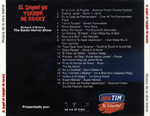 El Show De Terror De Rocky, 2001 Peruvian Cast CD (Back Cover)