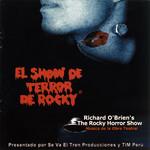 El Show De Terror De Rocky, 2001 Peruvian Cast CD (Front Cover)