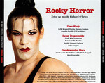Rocky Horror Show, 1995/96 Danish Cast CD Single (Back Cover)