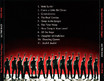 "Stanford Fleet Street Singers ""All the Rage"" CD (Back Cover)"