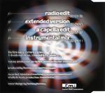 "Warp Machine ""Time Warp"" CD Single (Liner Notes Back)"