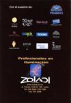 El Show De Terror De Rocky, 2001 Peruvian Cast Program (Back Cover)