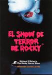 El Show De Terror De Rocky, 2001 Peruvian Cast Program (Front Cover)