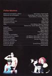 El Show De Terror De Rocky, 2001 Peruvian Cast Program (Contents Page 2)