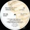 Rocky Horror Show, 1973 London Cast LP, Dojo Records (Disc Label Side One)