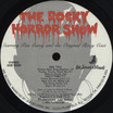 Rocky Horror Show, 1974 Roxy Cast LP (Disc Label Side Two)