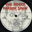 Rocky Horror Show, 1974 Roxy Cast LP (Disc Label Side One)