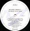 Rocky Horror Show, 1990 London Cast Double LP (Disc One Label Side Two)