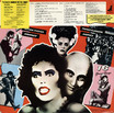 Rocky Horror Picture Show Soundtrack Picture Disc LP (Back Cover)