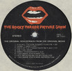 Rocky Horror Picture Show Soundtrack LP (Disc Label Side One)
