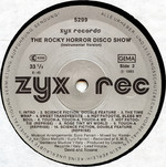 "The Rocky Horror Disco Show 12"" Single (Disc Label Side Two)"