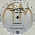 "Tim Curry ""I Do The Rock"" 12"" Single (Disc Label Side One)"