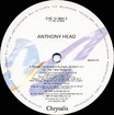 "Anthony Head ""Sweet Transvestite"" 12"" Single (Disc Label Side Two)"
