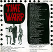 "Lou & The Hollywood Bananas ""Time Warp"" 7"" Single (Back Cover)"