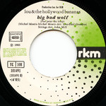 "Lou & The Hollywood Bananas ""Time Warp"" 7"" Single (Disc Label Side Two)"