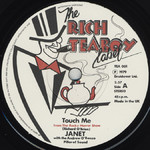 """Belinda Sinclair """"Touch Me"""" 7"""" Single, Rich Teaboy Reissue (Disc Label Side One)"""